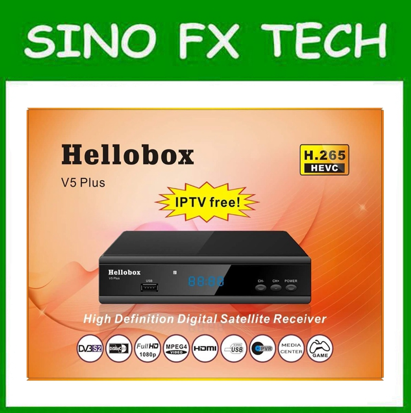 GSKY V5 PLUS HELLOBOX V5 PLUS similar function as gsky v7 power vu auto roll support H.265 HEVC IPTV 3 months free hello box gsky v7 dvb s2 box with latin america auto roll and powervu function support all n america