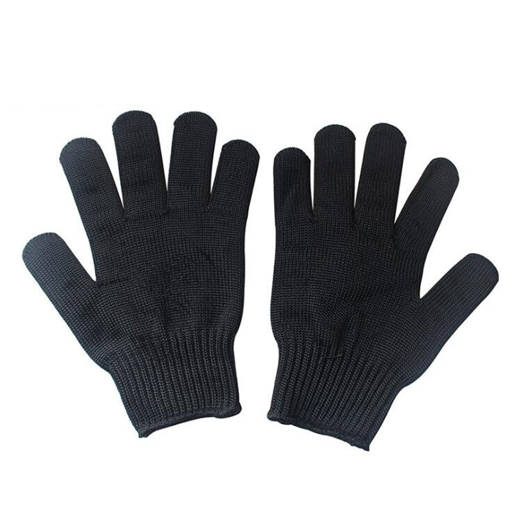 Men Work Gloves Cowhide Security Protection Wear Safety Working Climbing Outdoor Sports Gloves For Men multifunctional outdoor sports retractable plastic climbing safety rope black