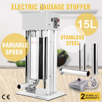 15L 33LBS ELECTRIC SAUSAGE FILLER STUFFER MAKER COMMERCIAL STUFFING GREAT to  Europe