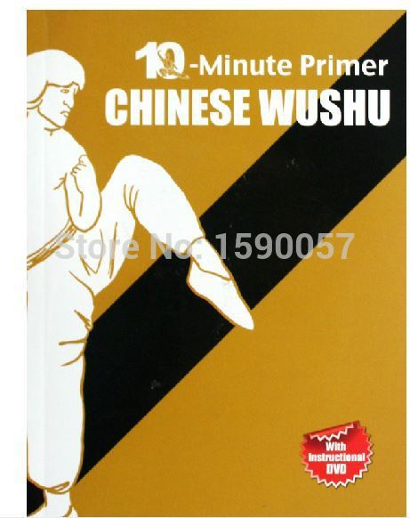 free shipping 1pcs/lot Ten minutes to learn Chinese Martial Arts health exercises (English) недорго, оригинальная цена