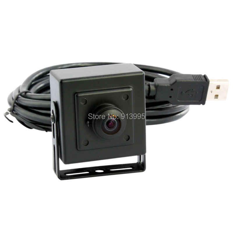 5mp 2592*1944 OV5640 Высокое разрешение мини веб-камера с высокой четкостью 170 градусов широкоугольный объектив «рыбий глаз» lenscctv usb камера для Android/Linux/Windows