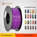 1.75mm 3mm PLA Filament 1 kg/2.2lb Impressoras 3D Reprap, MakerBot Replicator 2, Afinia, Solidoodle 2, Printrbot LC e ATÉ