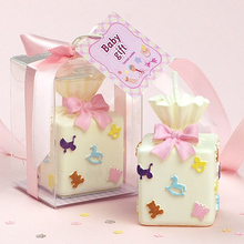The children's birthday party birthday candle souvenir gift box scented candle making wedding decoration accessory velas