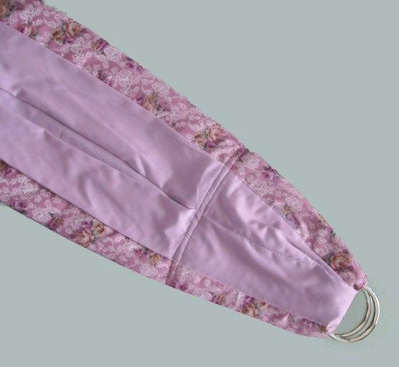 Регулируемая Детская сумка-кенгуру для детей с кольцом metel лучший подарок для ребенка один размер - Цвет: light purple