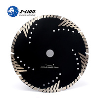 Z LION 230mm Diamond Cutting Disc Granite Marble Saw Blade Turbo Diamond Segments 9 Inch Store
