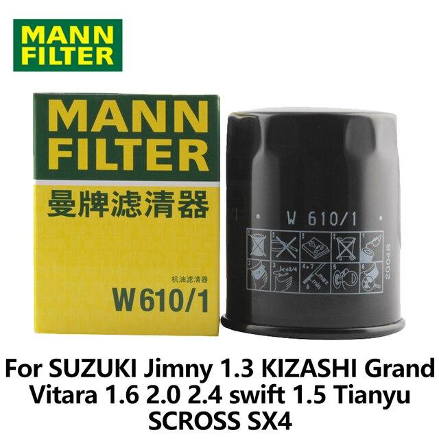 MANN FILTER Car Oil Filter For SUZUKI Jimny 1.3 KIZASHI Grand Vitara ...