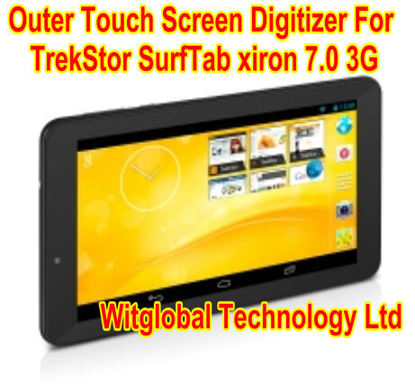 Original New 7 Trekstor SurfTab xiron 7.0 3G Tablet Touch screen touch panel Digitizer Glass Sensor Replacement Free Shipping new 7 roverpad air s70 3g hd tm712 tablet touch screen touch panel digitizer glass sensor replacement free shipping