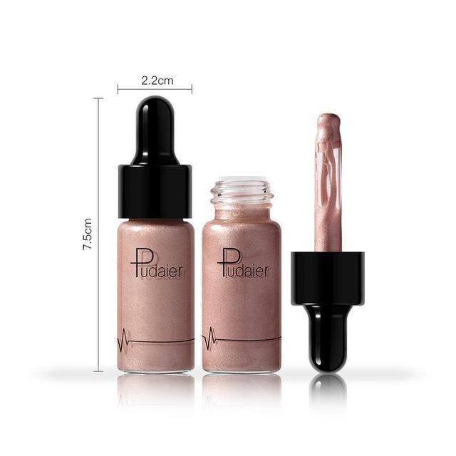 PUDAIER Professionnel Visage Base de Maquillage Longue Durée Éclairent Mat Minérale Blanchiment De Base Liquide Fondation Maquillage 3
