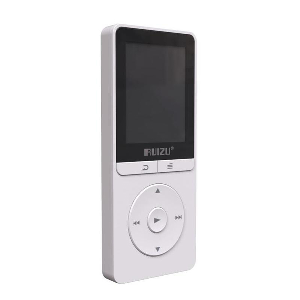 Latest RUIZU X20 HiFi Digital Lossless Player Sport MP3 1.8 Screen Can Play 100 Hours 8GB With Recorder,FM,E-Book,Clock,Data