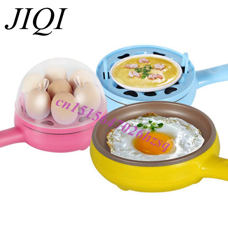 CUKYI Multifunctional / mini electric frying pan Skillet / Fried Eggs / fried steak / Egg boiler edtid multifunctional electric cooker mini heat pan students hot pot without oil fume nonstick frying pan special offer