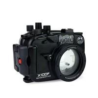 Seafrogs 40 м/130ft подводный Камера Корпус чехол для Fujifilm X100F Камера действие Камера Аксессуары; Бесплатная доставка