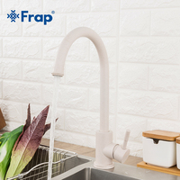 Frap Kitchen Faucet Stainless Steel 360 Rotate Oatmeal Mixer Faucet for Kitchen Hot & Cold Deck Mounted Crane for Sinks Y40107 1
