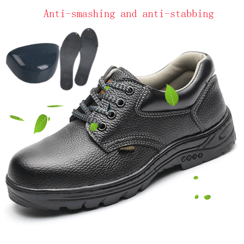 Shoes Work-Boots Construction Steel-Toe Outdoor Waterproof Men's Ankle Punctures Nti-Slip