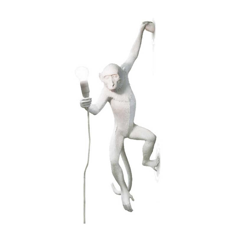 Настольная лампа в виде обезьяны из Южной Америки для спальни, прикроватная декоративная настольная лампа для внутреннего ресторана, модные светильники, бесплатная доставка