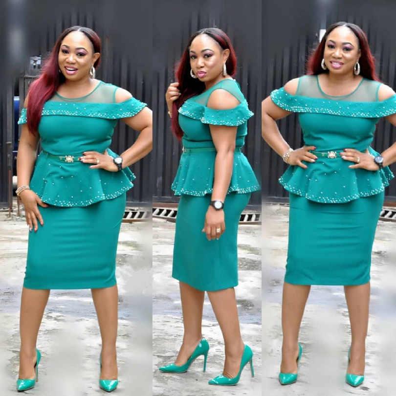 New Fashion Design Traditional African Dresses For Women Beautiful Nigerian Design Elegen Dresses Aliexpress