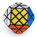 DaYan Gem II Plástico Cubo Mágico Preto Grande Educacional Crianças Jigsaw Puzzle Brinquedo cubo magico para Speedcubers Profissional
