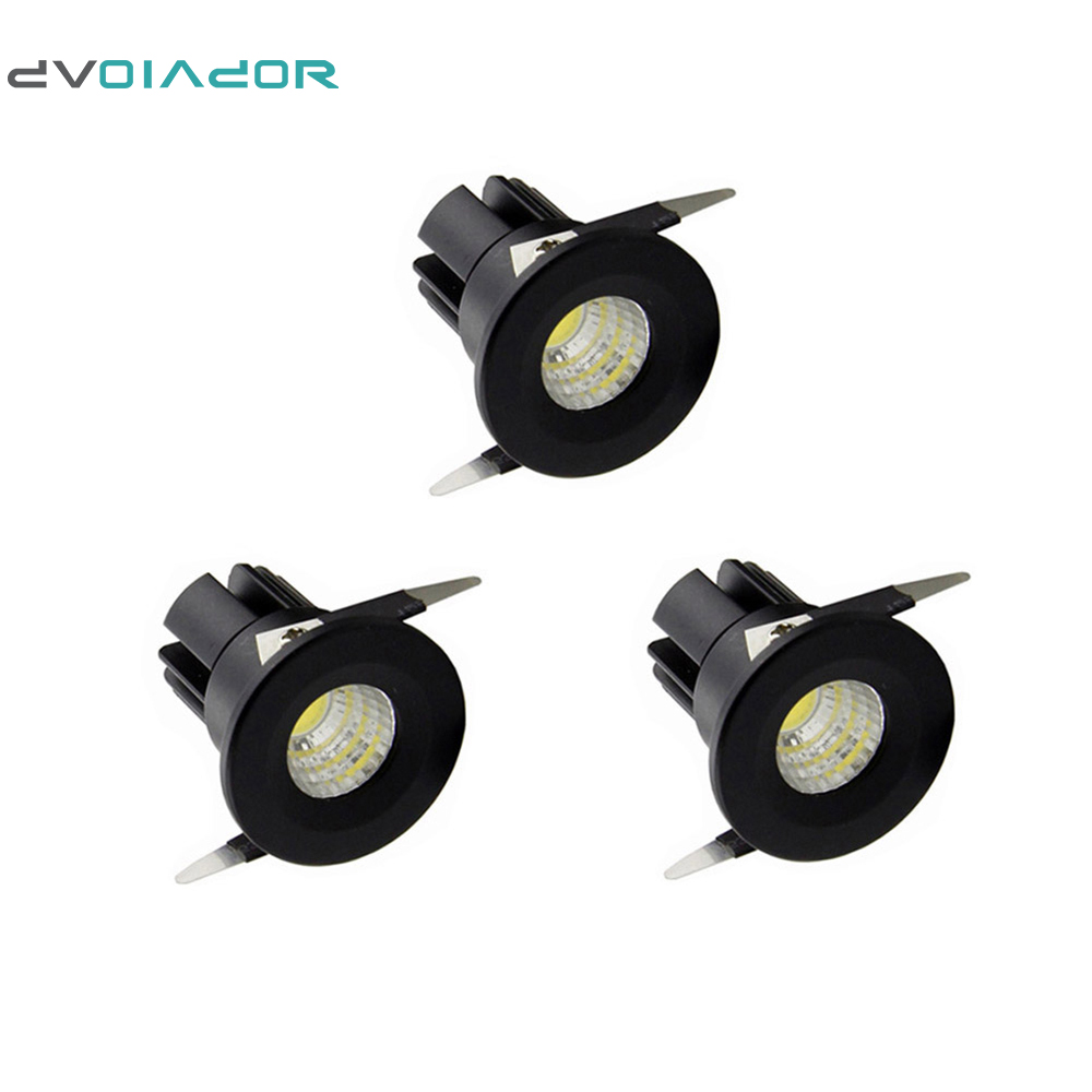 Dvolador 3pcs Lot Under Cabinet Mini Led Downlights