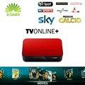 2017 Nova AVOV TVonline IPTV Caixa Com Super Italy IPTV 1300 ao vivo do canal + 7000 Filmes Europa iptv VOD witi tv Sonho livre