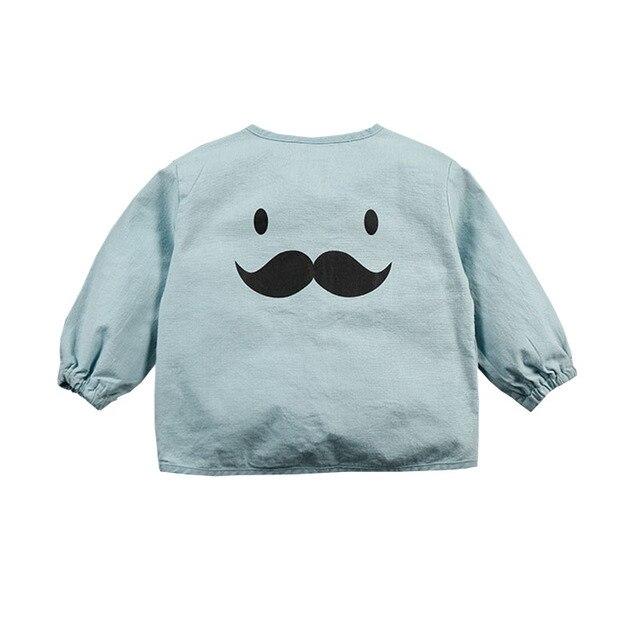 2017 Spring Autumn Newborn Baby Boys Girls Cartoon Print Long Sleeve Sweater Cotton Sweater For 0-2T
