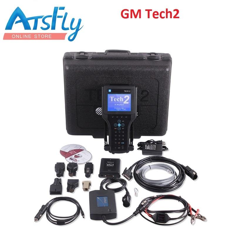 GM Tech2 full set with Customized Case for GM /SAAB/ OPEL/ SUZUKI /Holden /ISUZU gm tech 2 scanner free shipping