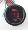 2 pulgadas (52mm) Negro Promotor Coche luz Led Rojo reloj Digital Electrónico Medidor de Temperatura del Agua medidor de Temperatura del Agua envío gratis