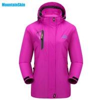 Mountainskin 2017 Women S Spring Breathable Softshell Jacket Outdoor Sports Jackets Hiking Trekking Climbing Female Coats