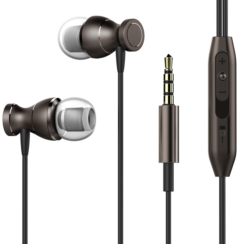 Fashion Best Bass Stereo Earphone For Lenovo K5 Note Earbuds Headsets With Mic Remote Volume Control Earphones