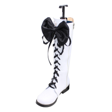 Black Butler Book of Circus Cosplay Ciel Phantomhive shoes shoe boot Mens boots Custom 4891