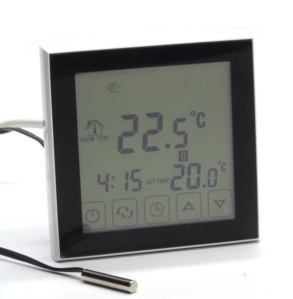 купить  EU floor heating thermostat  programmable with External sensor  онлайн