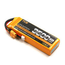TCB RC Drone lipo battery 11.1v 3500mAh 25C 3s for rc airplane free shipping