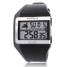Brands Classic Fashion Animation  Multifunction Daterproof Diving LED Luminous Electronic Watches Stopwatch Countdown 100M  GI