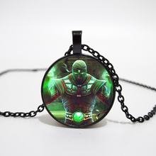 Arrival Mortal Kombat Necklace Handmade Glass Dome Scorpion Sub Zero Pendant Jewelry Steampunk