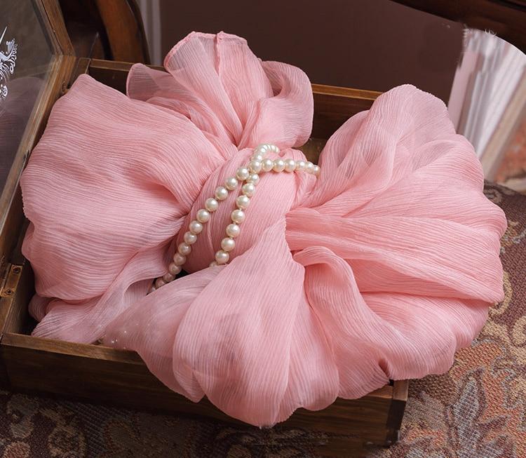 100% Silk Crepe Pink Scarf Moslim Hoofddoek Soft Shawlponcho Silk Scarf Winter Sjaal 2016 Chiffon Hijab Newborn Baby Girl Wrap