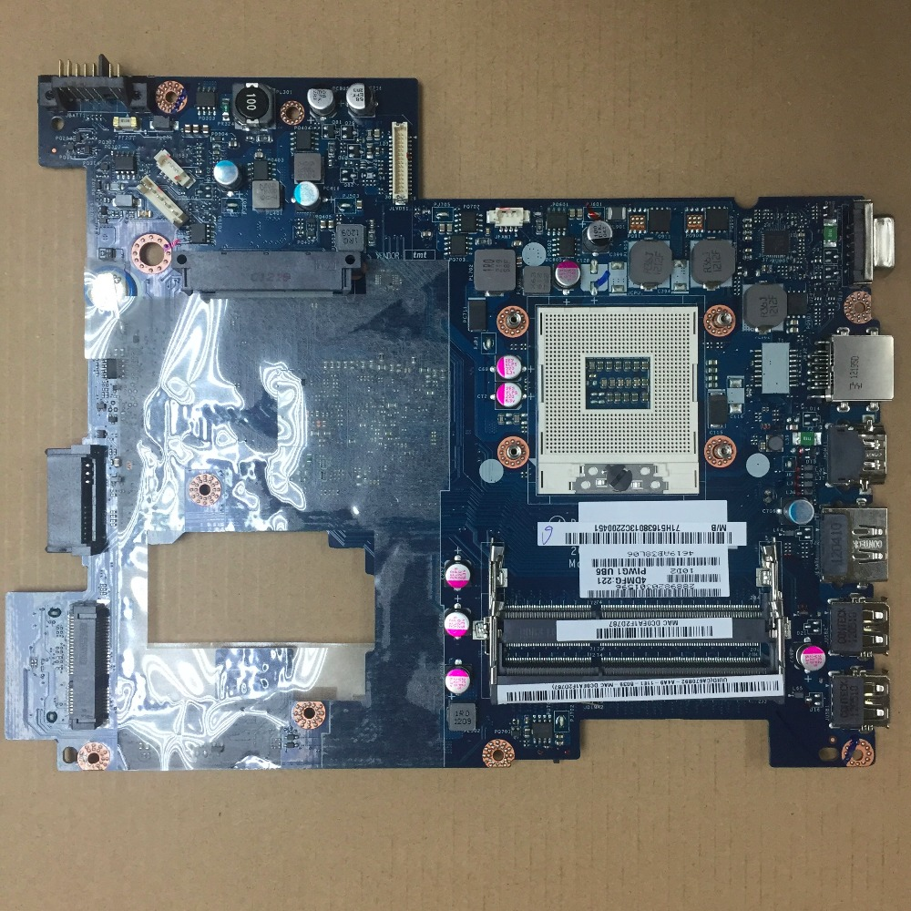 Free Shipping New For Lenovo G470 Laptop Motherboard PIWG1 LA-6759P Rev1.0 main board with HDMI Port original and free shipping neat 470 rev b1 486 high quality