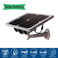 1 0MP 720P Outdoor Waterproof Solar Battery Power Wifi Security Motion Detection Bullet CCTV 720P IP