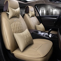 Luxury Soft Microfiber Leather Car Seat Cover Universal Auto Seat Covers Accessories for kia rio 3 peugeot ford BMW Audi Toyota