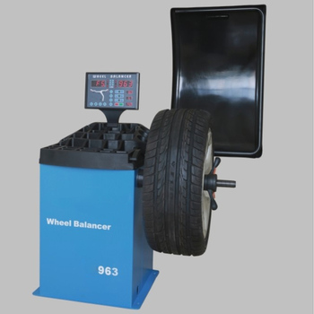 Car Tyre Balancing Machine Computerized Digital Wheel Balancer Modle 963 Tire Repair Tool With Complete Accessories