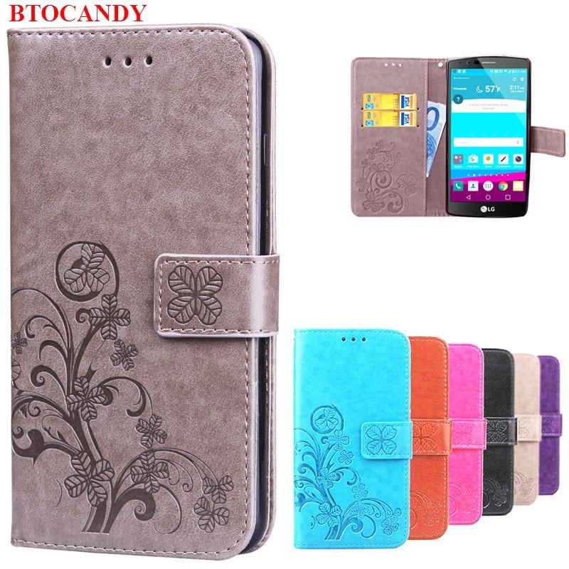 Untuk LG G4 LGG4 Dompet Kulit Balik Kasus Pencetakan Back Cover Untuk - Aksesori dan suku cadang ponsel - Foto 1