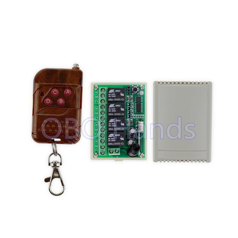 New arrival 315MHz DC12V wireless remote control switch+receiver module and shell for electric door lock use for 4 doors-TM34 10pcs is61lv51216 12ti new