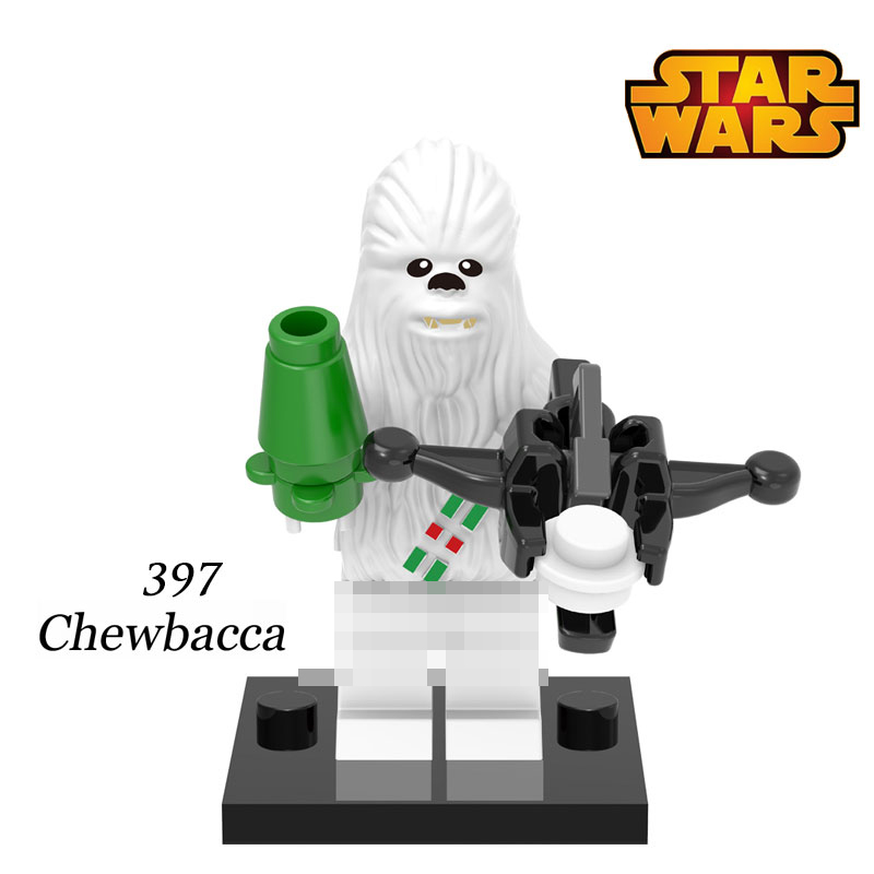 Building Blocks Chewbacca STAR WARS Rogue One XH397 Snow Trooper 75147 Classic Models Bricks Super Heroes Kids DIY Toys Gift