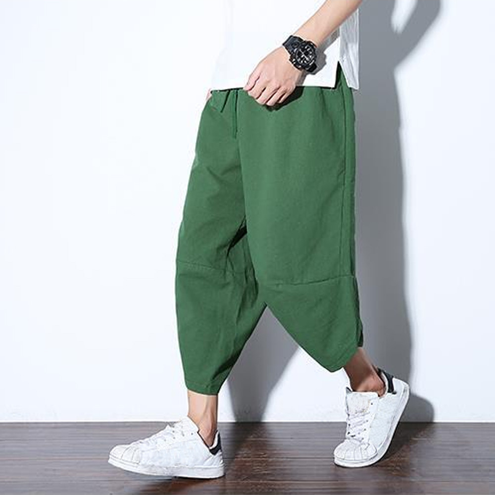 Cotton Men Fashion Casual Pants