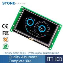 4 inch LCD display module with CPU and touchscreen, work Any MCU
