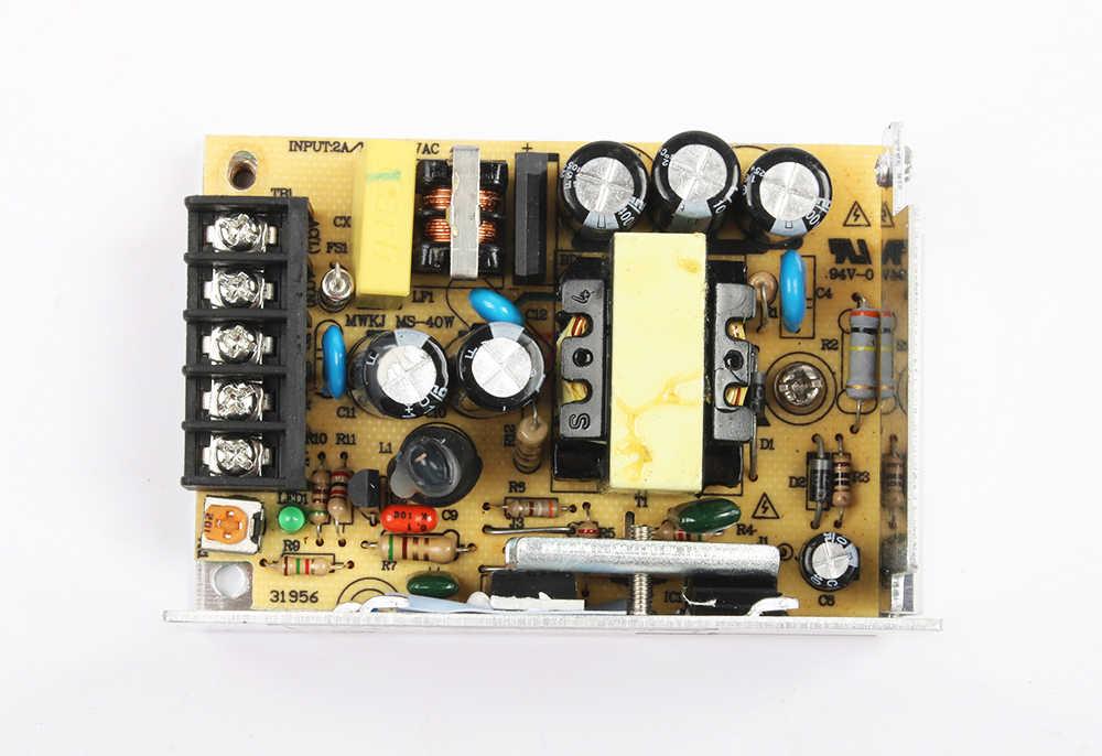 DIANQI MS-35-5 MS-35-12 MS-35-24 импульсный источник питания Блок MS-35w 5v 12v 15v 24v 48V Мини размер din led преобразователь переменного тока в постоянный