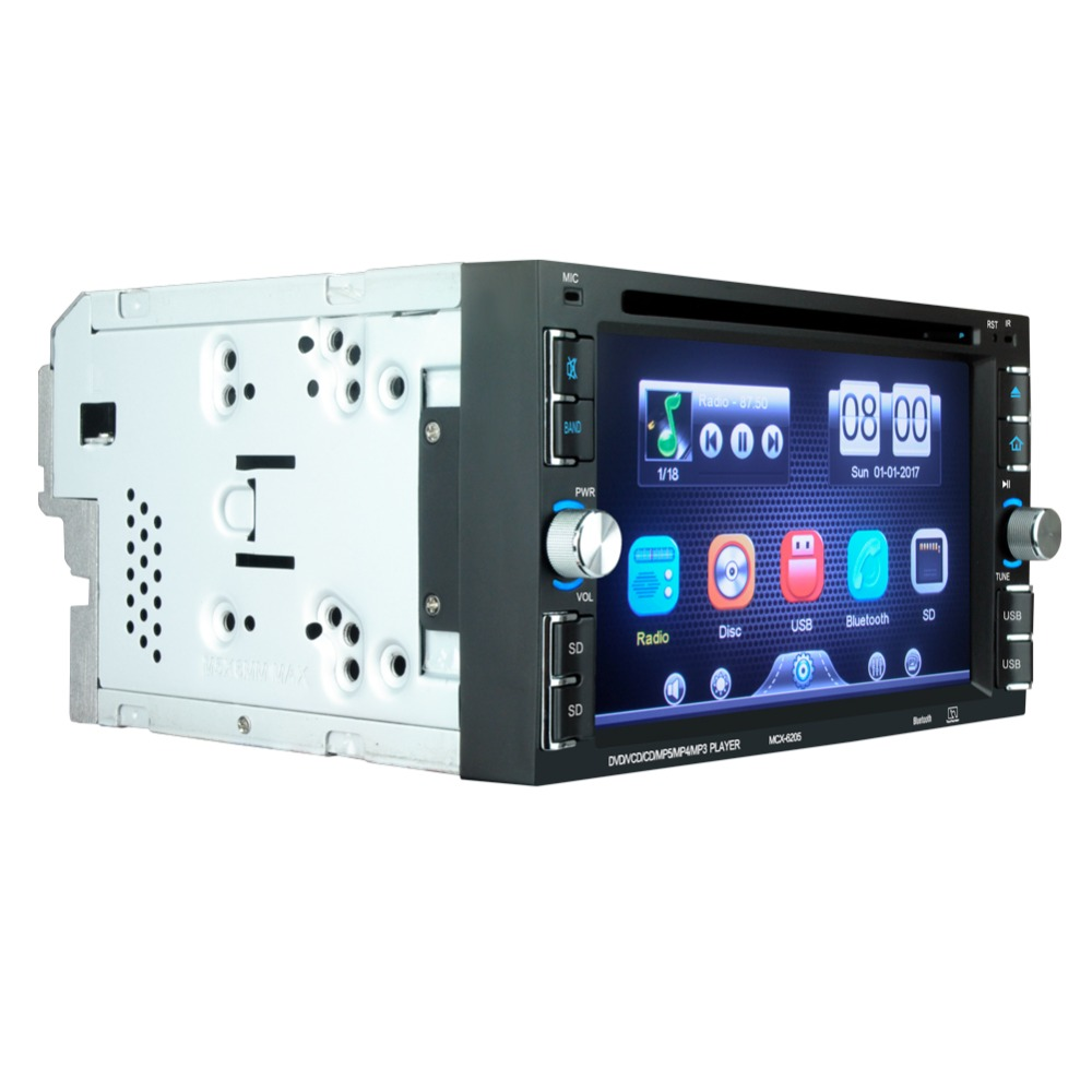 """Image 2 - 6205  Car DVD player 6.2"""" Car Autoradio Video/Multimedia MP5 Player mp4 Car Stereo audio player car dvd BT FM-in Car CD Player from Automobiles & Motorcycles"""