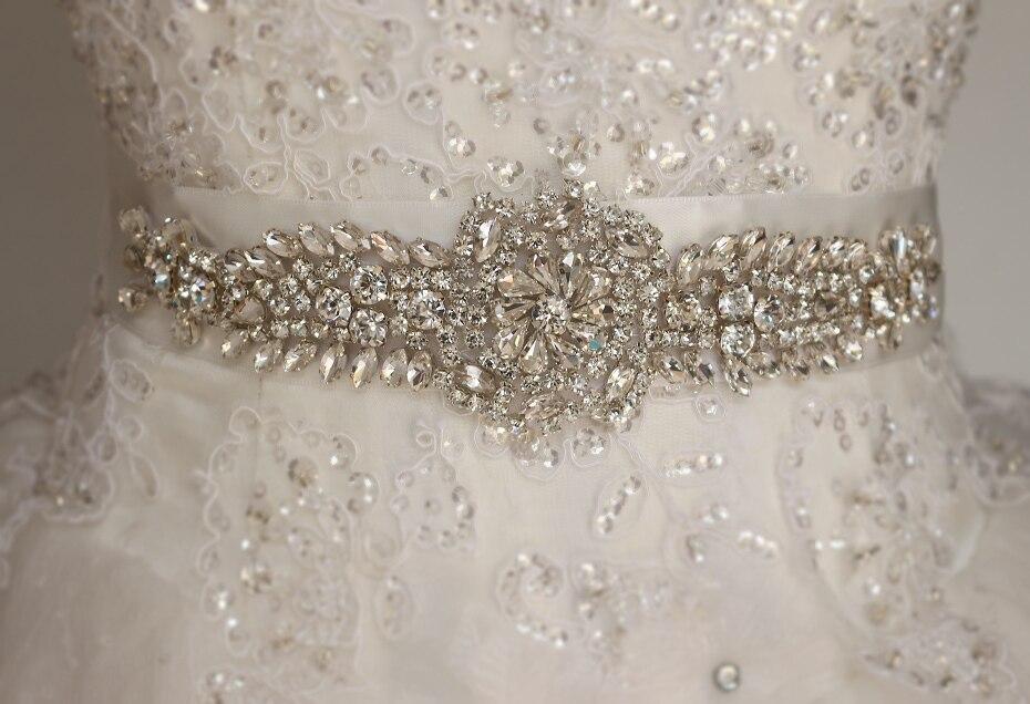 Bridal gown belt, wedding gown Sash, luxury diamond belt, Sash ...