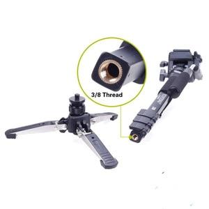 Image 5 - Yunteng 288 Camera Monopod Tripod + Fluid Pan Head Ballhead + Unipod Holder Base Stand for Ditigal Camera DSLR Smartphone Clip
