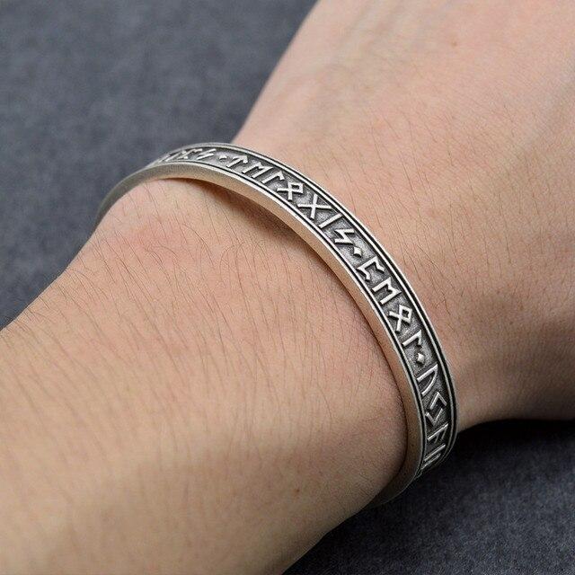 1pc Men's Rune Bracelet...