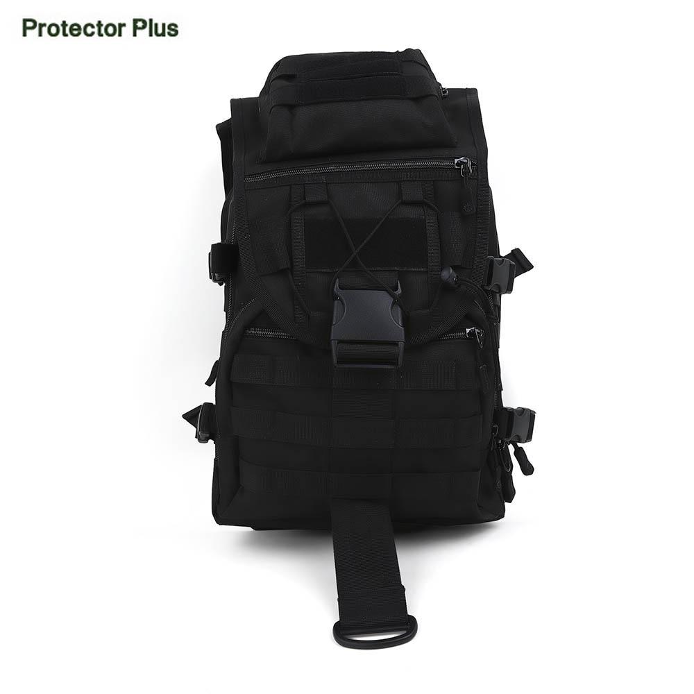 Protector Plus Bolsa de Nylon Resistente Al Agua 40L Mochila Al Aire Libre Milit