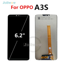 100% Tested For Oppo A3s Full LCD DIsplay with Touch Screen Digitizer Assembly Replacement For A3s LCD display 6.2