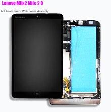 8 Display For Lenovo Miix2 Miix 2 8 MIIX2 8 LCD Display Matrix Touch Screen Digitizer